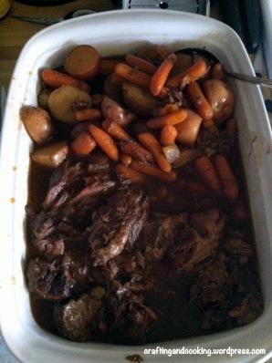 Crockpot Pot Roast 4