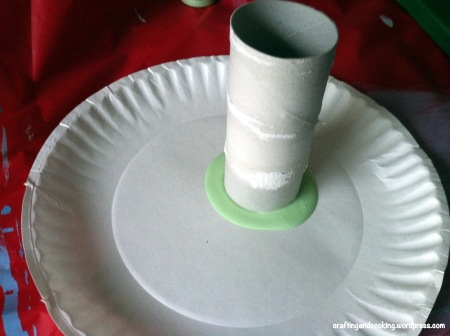 Toilet paper roll canvas art 3