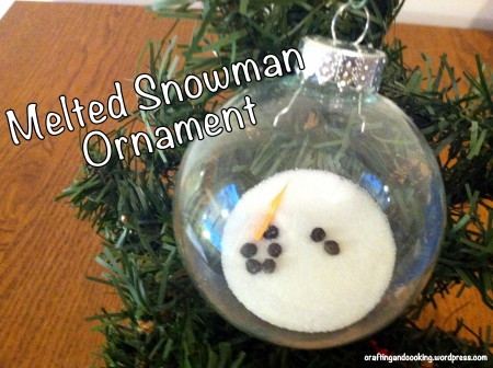 melted snowman ornament 6