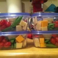 Homemade snack pack