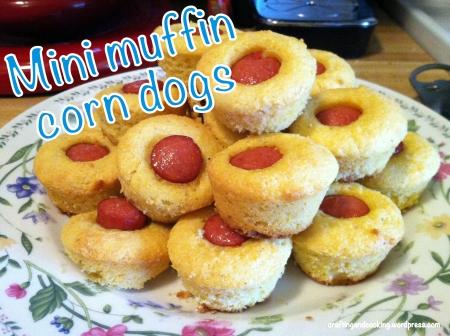 Mini corndog muffins 5