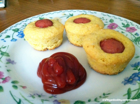 Mini corndog muffins 6
