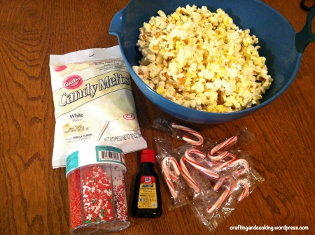 Peppermint popcorn 1