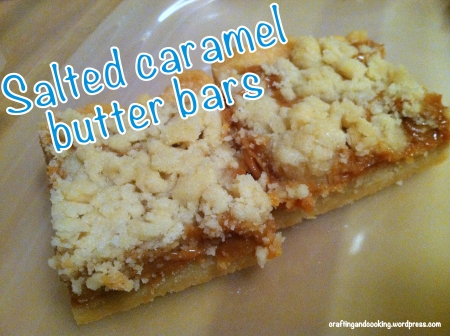 Salted Caramel Butter Bars 10