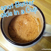 Peanut Butter Cookie in a Cup