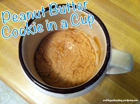Peanut Butter Cookie in a Cup 6