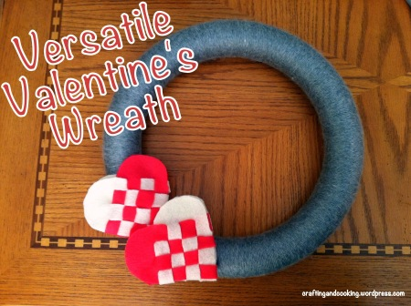 Versatile Valentine's Day wreath 2