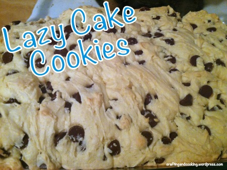 Lazy Cake Cookies 5