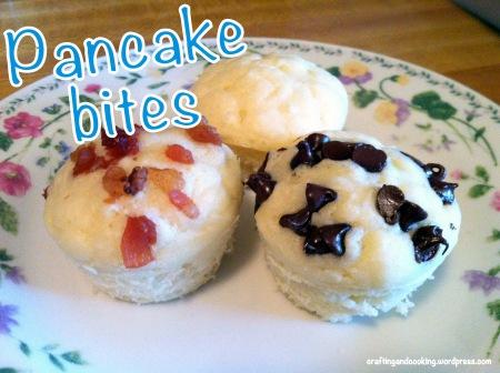Pancake Bites 1