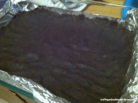 White and Dark Chocolate Cream Cheese Chocolate Cake Bars 2