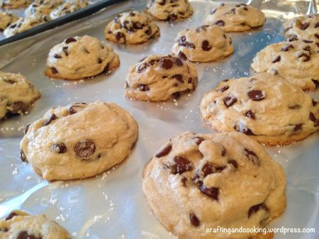 The Best Chocolate Chip Cookies | Craftingandcooking.wordpress.com